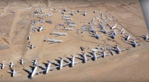 This Is The Surreal Airplane Boneyard Where Planes Go To Retire