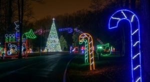 The Mesmerizing Christmas Display In Maryland With Over 1 Million Glittering Lights