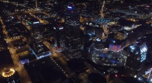 What This Drone Footage Caught In Indianapolis Will Drop Your Jaw