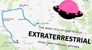 Take This Extraterrestrial Road Trip Through Nevada For An Out-of-This-World Adventure