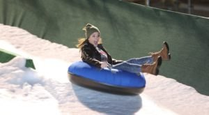 The Epic Snow Tubing Hill In Oklahoma At LifeShare WinterFest Is Filled With Winter Thrills