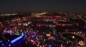 This Bird's Eye View Of Oklahoma's Christmas Lights Will Leave You In Awe