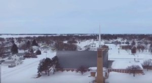 This Drone Footage Shows You Just How Amazing Nebraska Looks In The Wintertime