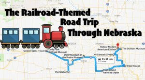 This Dreamy Train-Themed Trip Through Nebraska Will Take You On The Journey Of A Lifetime