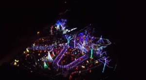 The Mesmerizing Christmas Display In Arkansas With Over 750,000 Glittering Lights