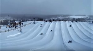 This Epic Snow Tubing Hill In Maryland Will Give You The Winter Thrill Of A Lifetime