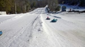 This Epic Snow Tubing Hill In New Hampshire Will Give You The Winter Thrill Of A Lifetime