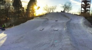 The Winter Terrain Park In Idaho That's A Rollicking Good Time