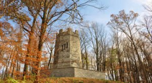 Hike To This Abandoned Tower In Ohio That's Rumored To Be Haunted