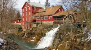 A Historic Eatery Near Cincinnati, Clifton Mill Is One Of The Most Beautiful Restaurants In Ohio