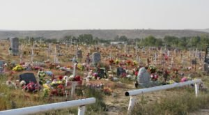 This Obscure Little Wyoming Cemetery Is The Sacred Resting Place Of One Of History's Most Famous Native Americans