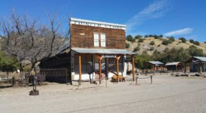You'll Feel Like You Stepped Back In Time When Visiting This New Mexico Ghost Town