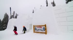 This Epic Snow Fort Near Denver Will Bring Out The Child In Everyone