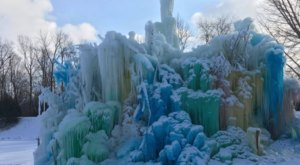 The One Staggering Ice Castle In Indiana You Need To See To Believe
