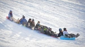 Here Are the 9 Best Places To Go Sled Riding In Cleveland This Winter