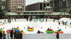 The Only Place In The Country You Can Ride Bumper Cars On Ice Is Right Here In Rhode Island