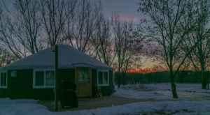This Secluded Glampground In North Dakota Will Take You A Million Miles Away From It All