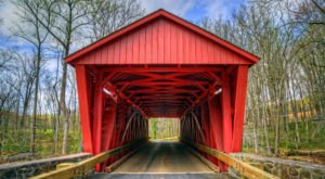 There's Only One Remaining Covered Bridge In The Baltimore Area And You Need To Visit