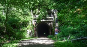 This Amazing Trail In Wisconsin Takes You Through Abandoned Train Tunnels