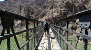 The Stomach-Dropping Suspended Bridge Walk You Can Only Find In Arizona