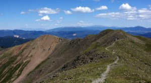 The Sangre de Cristo Mountains In New Mexico Take You Above The World