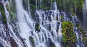 There's Something Amazing Happening To The Waterfalls In Northern California Right Now