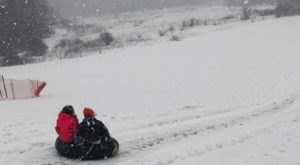 The Epic Snow Tubing Hill In Illinois, Goodenow Grove Nature Preserve Is Filled With Winter Thrills