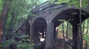 Most People Don't Know The Story Behind Cleveland's Abandoned Bridge To Nowhere