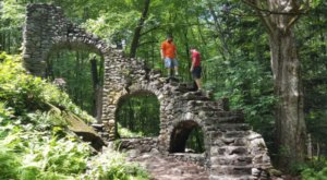 Most People Don't Know About These Strange Ruins Hiding In New Hampshire
