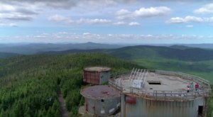 Drone Footage Captured At This Abandoned Air Force Station In Vermont Is Truly Grim