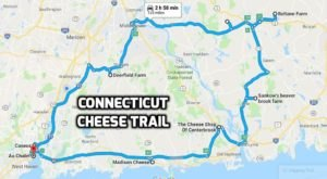 Take This Heavenly Cheese Trail Through Connecticut For The Most Delicious Day Trip Ever