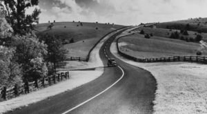 12 Rare Photos Taken During The Blue Ridge Parkway Construction That Will Simply Astound You