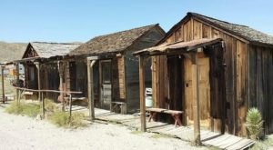 You Can Spend The Night At This Haunted Mining Camp In Nevada If You Dare