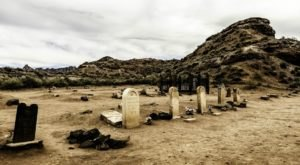 The Story Behind This Ghost Town Cemetery In Utah Will Chill You To The Bone