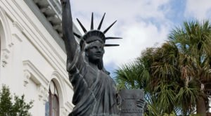 Most People Don't Know There's A Little Statue Of Liberty In North Carolina