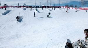 Most People Don't Know There's An Epic Snow Park Right Here In Denver