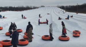 This Epic Snow Tubing Hill Near Indianapolis Will Give You The Winter Thrill Of A Lifetime