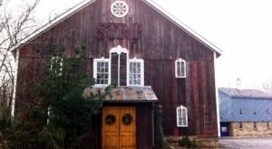 Dine Inside An Old 1850s Barn At Strip Steakhouse, A Rustic Restaurant In Ohio