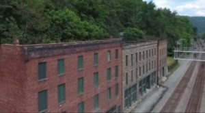 Drone Footage Captured At This Abandoned Town in West Virginia Is Truly Grim