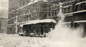The Record Setting Snowstorm Of 1913 Was The Biggest Blizzard In Denver History
