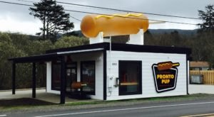 This Iconic Roadside Restaurant In Oregon Is Home To The World's Largest Corndog