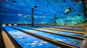 This One-Of-A-Kind Ocean Themed Restaurant And Bowling Alley In Northern California Is Insanely Fun