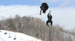 This Winter Zipline In Michigan Will Take You On A Fantastic Adventure