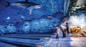 A One-Of-A-Kind Ocean Themed Restaurant And Bowling Alley, Uncle Buck's Fish Bowl and Grill In Florida Is Insanely Fun