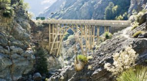 Most People Don't Know The Story Behind Southern California's Abandoned Bridge To Nowhere