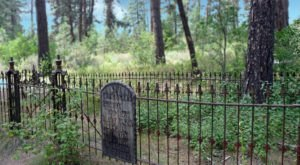 The Story Behind This Ghost Town Cemetery In Idaho Will Chill You To The Bone