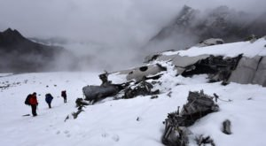 Few People Know You Can Hike To The Wreckage Of A Deadly Crash On This Alaska Glacier