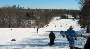 7 Epic Sledding Hills Around Minneapolis Will Make Your Winter Unforgettable