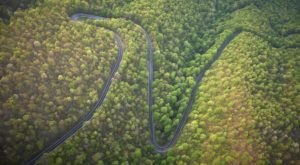 Virginia's Windiest Road Has Over 300 Curves And It's Not For The Faint Of Heart