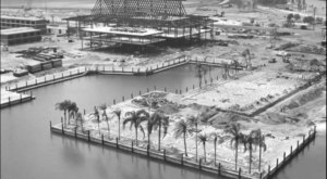 20 Rare Photos Taken During Walt Disney World Construction That Will Simply Astound You